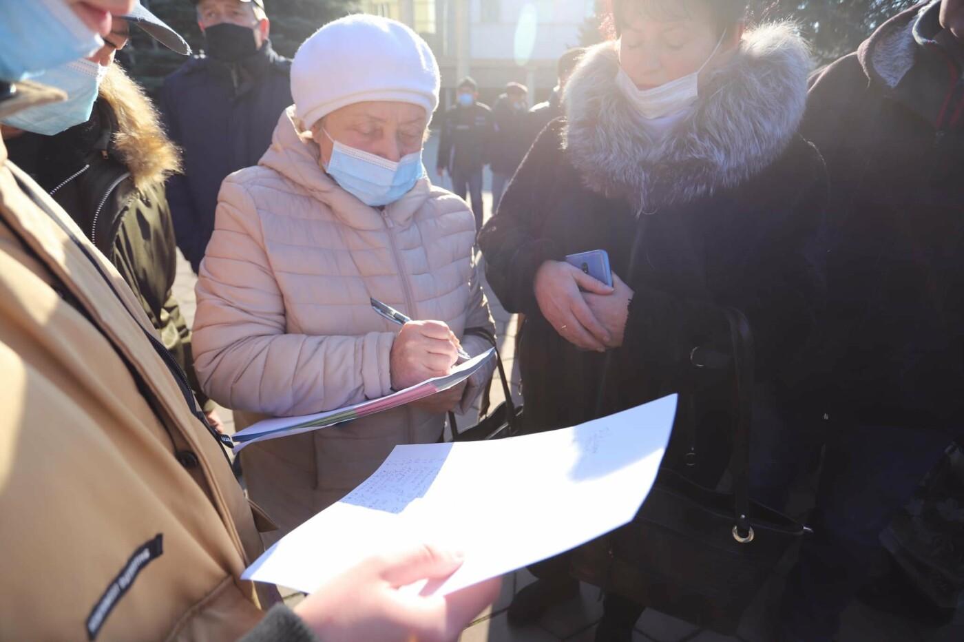 В Черноморске прошла акция протеста против повышения коммунальных тарифов, фото-2
