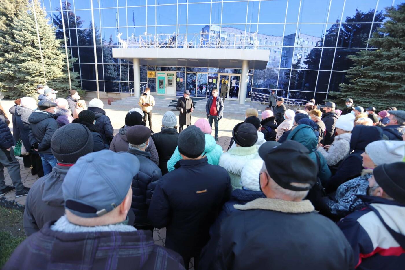 В Черноморске прошла акция протеста против повышения коммунальных тарифов, фото-1