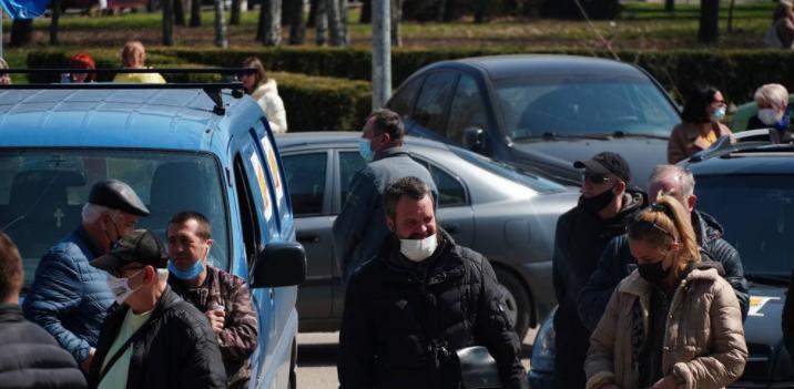 Одесский автопробег закончился протестами, фото-1