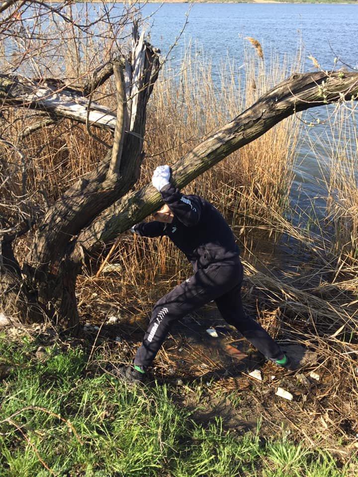 Под Черноморском очистили территорию от мусора, фото-4