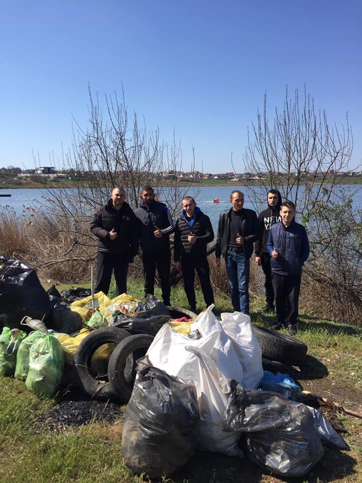 Под Черноморском очистили территорию от мусора, фото-5
