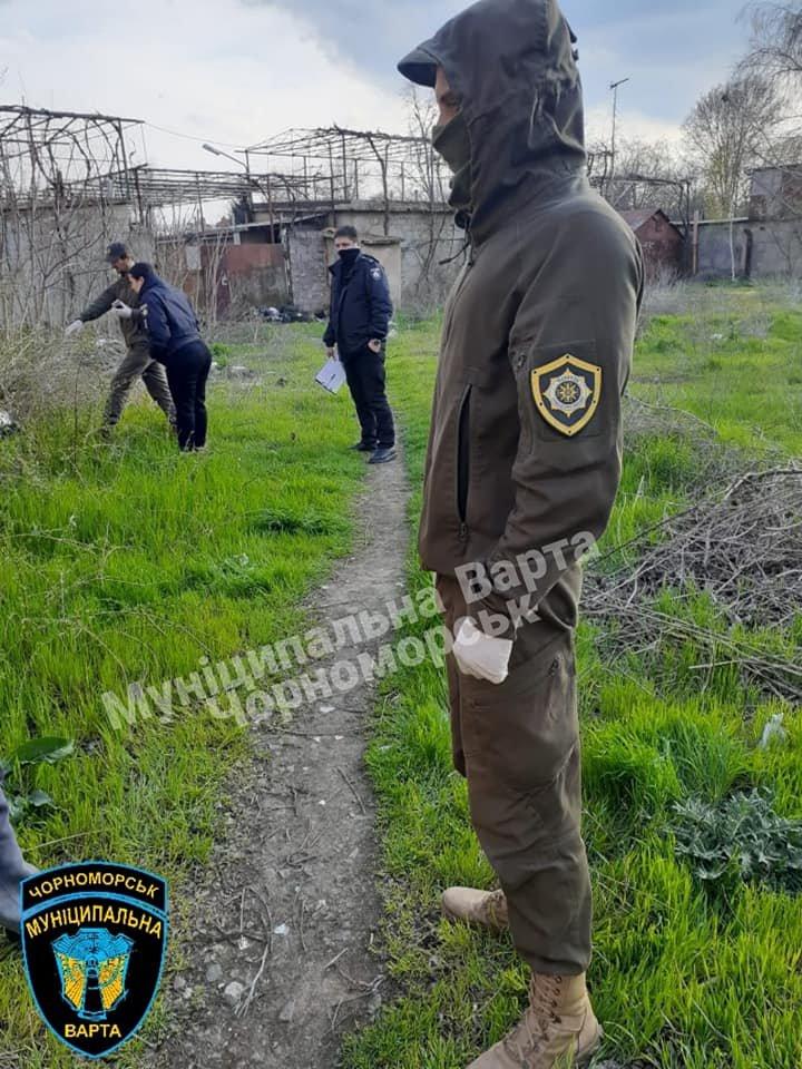 В Черноморске «на горячем» задержали закладчиков, фото-1