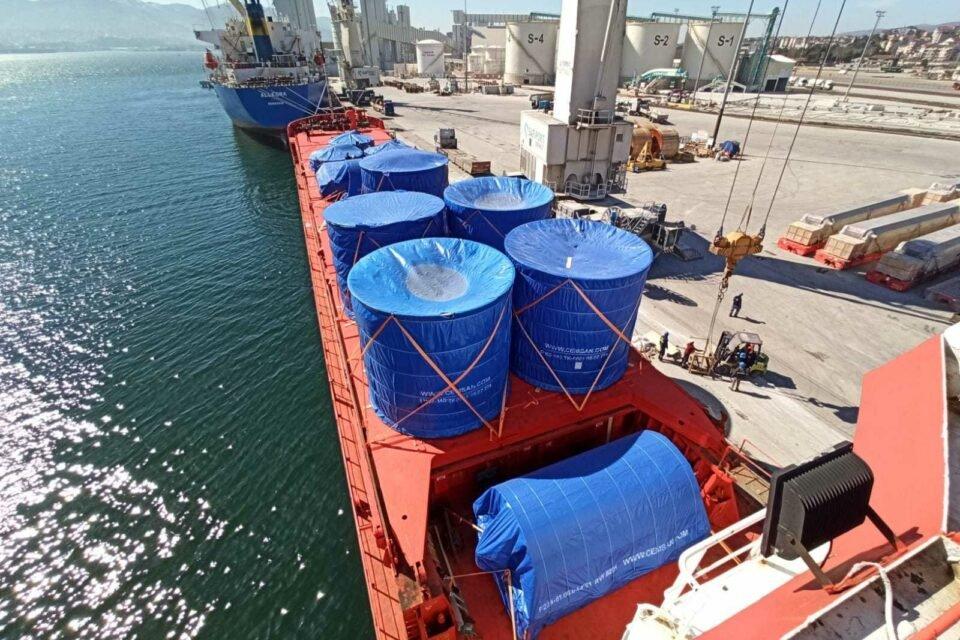 Через порт Черноморск осуществили доставку негабаритного груза, фото-4