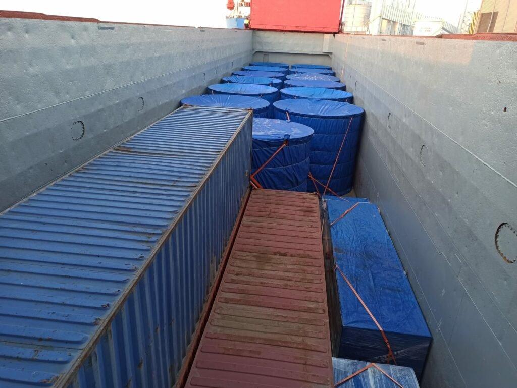 Через порт Черноморск осуществили доставку негабаритного груза, фото-2