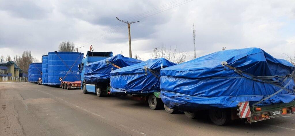 Через порт Черноморск осуществили доставку негабаритного груза, фото-3