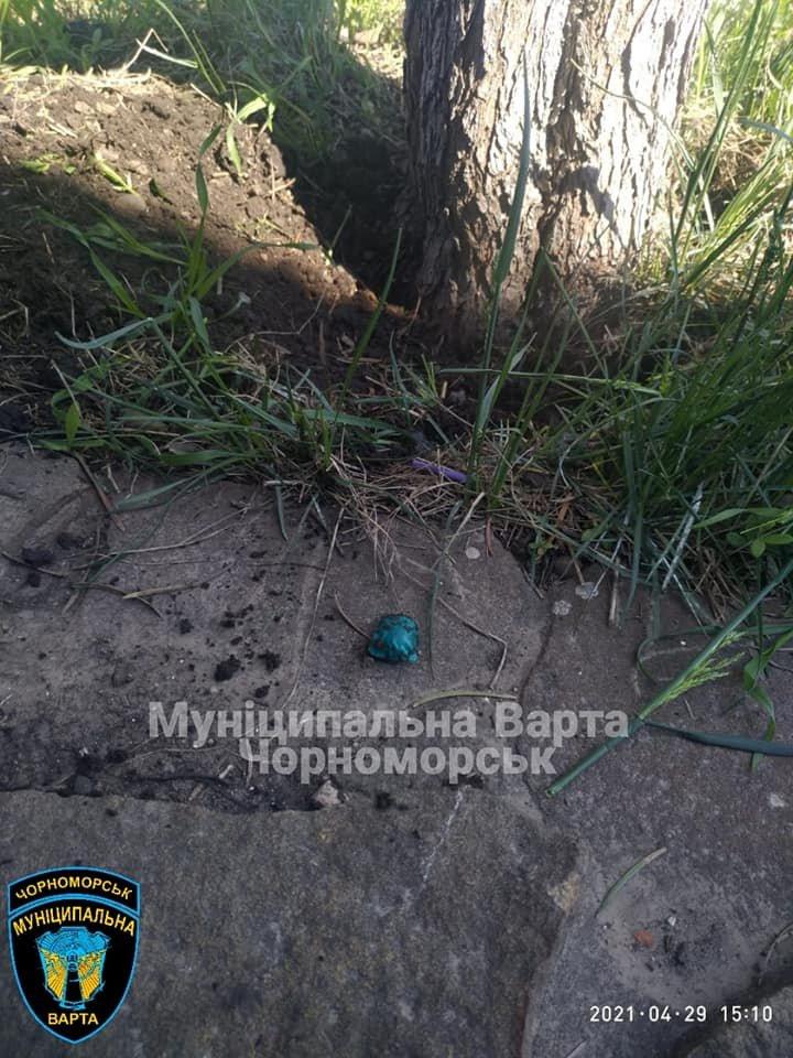 В Черноморске найдена очередная «закладка» с наркотиком, фото-3